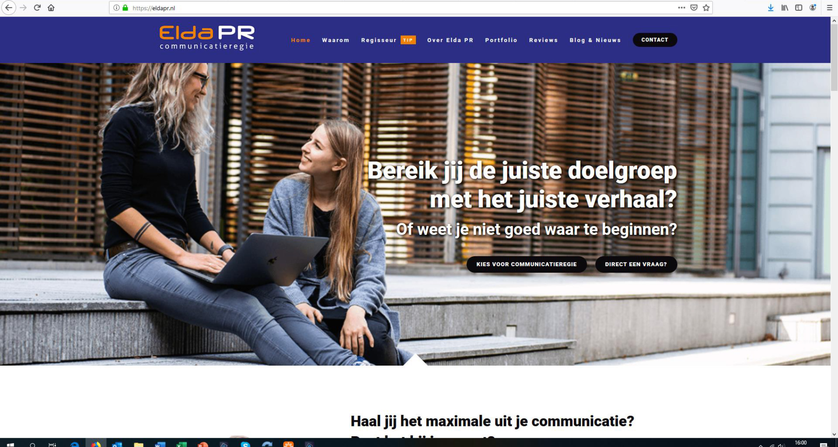 Elda PR en Harry Eskes helpen met jouw communicatie